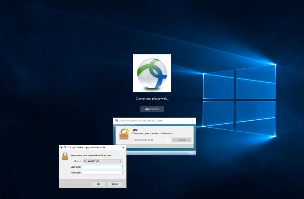 Windows 10 vpn connection before login